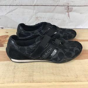 Coach Black Jenney Sneakers 6.5